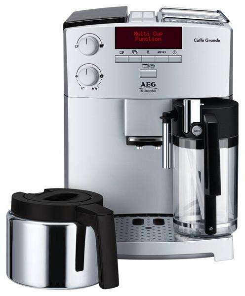 AEG CS 6600 лого. Ремонт кофемашин