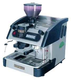 EXPOBAR ELEGANCE MINI CONTROL C/M 1GR лого. Ремонт кофемашин