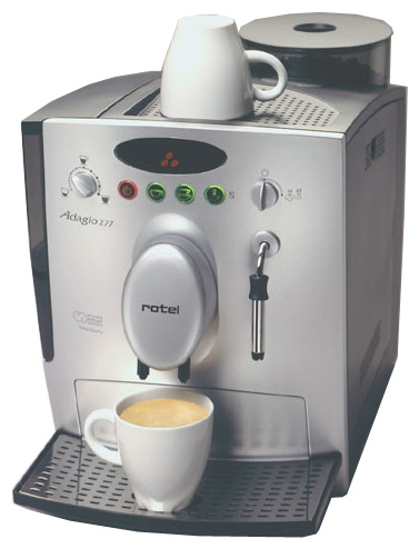 ROTEL лого. Ремонт кофемашин