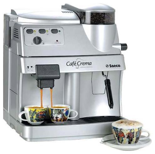 SAECO CAFE CREMA лого. Ремонт кофемашин