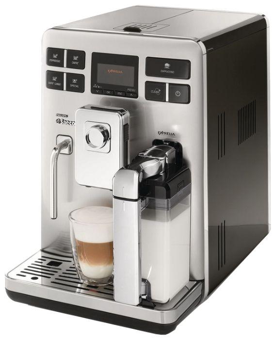 SAECO EXPRELIA BLACK лого. Ремонт кофемашин