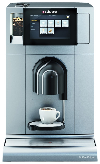 SCHAERER COFFEE PRIME лого. Ремонт кофемашин