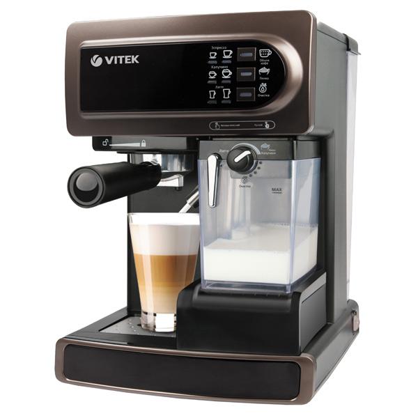 VITEK VT1517 BN инструкция. Ремонт кофемашин